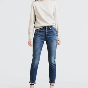Levi's 501 Skinny in Chill Pill